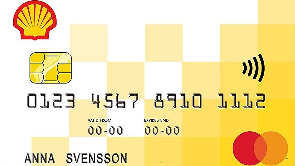 Shellkort Shell Sverige
