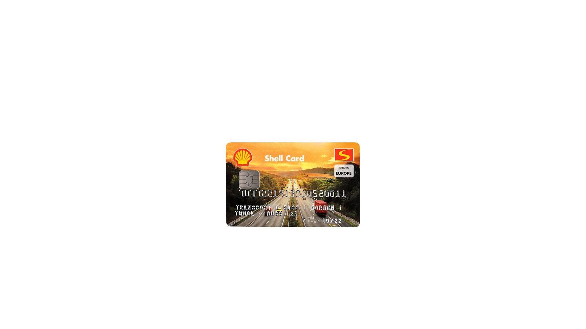 Shell Truckdieselkort Shell Sverige